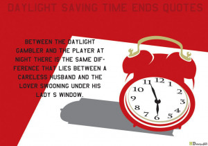 Daylight Saving Time ends quotes