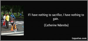 Quotes On Sacrifice for Others