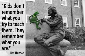 Through his beloved Muppets, Jim Henson was one of the first teachers ...