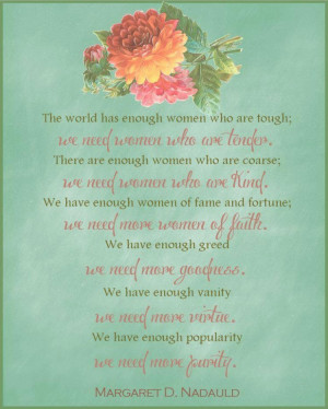 Women of the World by Margaret Naduald Quoted by Elder Christofferson ...