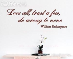 love quotes william shakespeare. WILLIAM SHAKESPEARE LOVE WALL