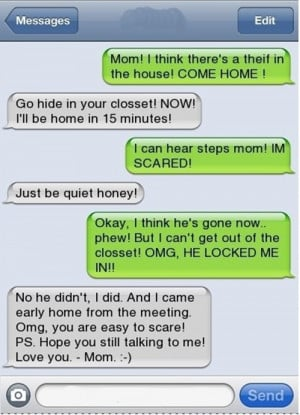 EVIL MOM OWNS HER SON xD
