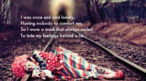 Sad And Lonely sad quotes
