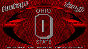 Ohio State Football BUCKEYE TOUGH OHIO STATE FOOTBALL