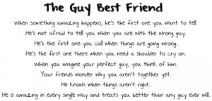 Guy Best Friend Problems