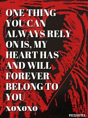 My Heart Belongs To You
