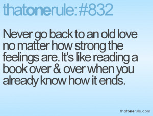... like reading a book over & over when you already know how it ends