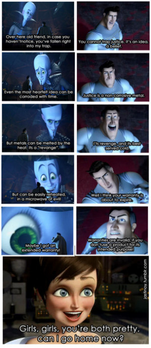 Funny Megamind Quotes