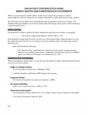 2008. scope of work template. APA Format - Parts of Paper. introduce ...