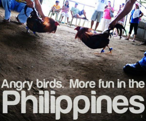 ... pics that came from the More fun in the Philippines Tourism Campaign