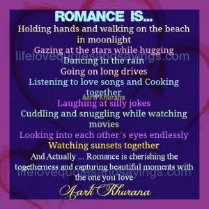 Romance Is..