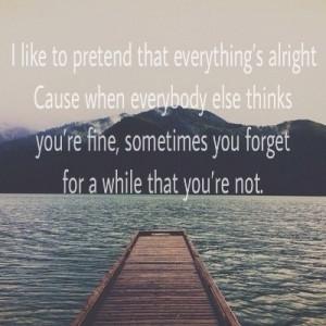 feeling, myself, quotes
