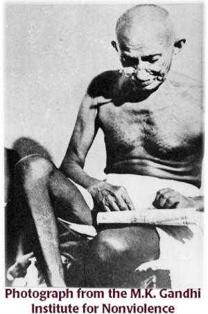 Gandhi Fasting Mohandas k. gandhi