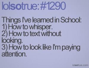 Funny Quotes Appropriate For School