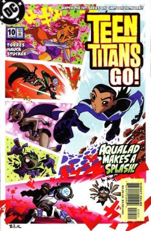 teen titans gocomics
