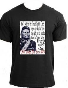 Native American Indian Chief Joseph