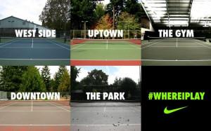 Where do you play? - #Nike #Tennis
