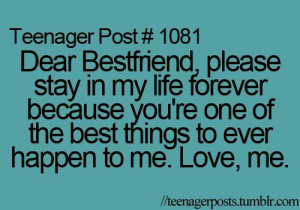 teenager post quotes best friend noments this says teenager post but ...
