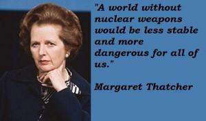 Margaret thatcher famous quotes 1
