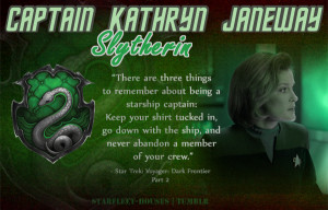 Star Trek Voyager Janeway - Slytherin
