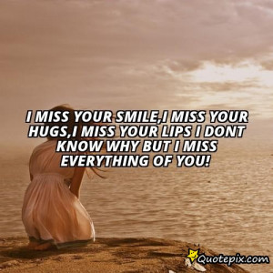miss your smile quotes