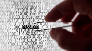 Password hack, 3d art, hand, password