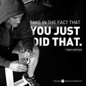 Tony Horton Quote