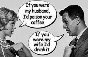 Funny Husband Wife Poison Coffee