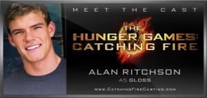 Catching Fire Alan Ritchson Cast as Gloss