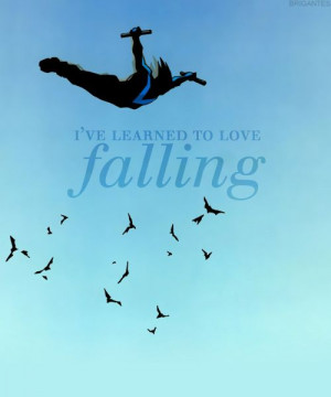 Falling. This was adapted from one of my favorite Nightwing covers.