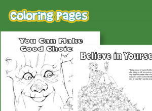 ... printable coloring pages teaching good character traits, like respect