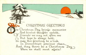 Here is a list of come much loved Christmas poems which are entraining ...