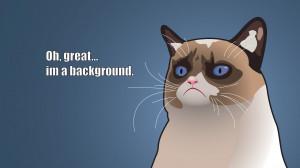 Grumpy Cat Cartoon New Wallpaper