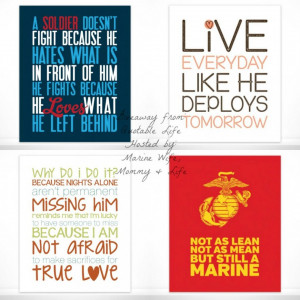 Quotes About Army And Military Love: Marine Wife As Mommy In Life ...