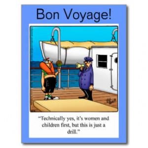 Bon Voyage Message