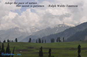 Nature Quotes, Ralph Waldo Emerson Quotes, Pictures,Patience Quotes ...