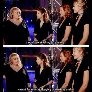 Pitch Perfect :). I love Fat Amy!! Dont you Nic?? ;-)))