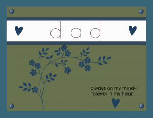 birthday in heaven dad quotes