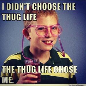 20 Best 'I Didn't Choose The Thug Life' Memes