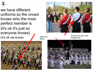 cute marching band quotes