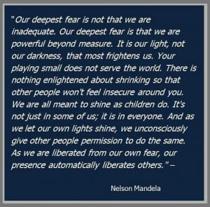 Fear, Marianne Williamson, Fav Quotes, Nelson Mandela Fear Quotes ...
