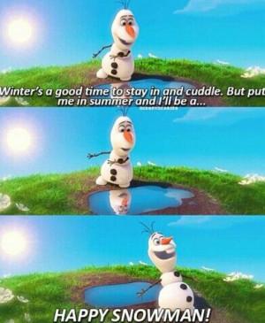 Frozen Olaf In Summer Lyrics Olaf summer frozen