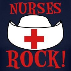 Navy NURSES ROCK ! T-Shirts