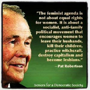 Pat Robertson...i don't think I should be laughing but I am wicked ...