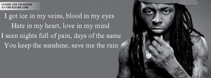 Lil wayne quotes cover photos