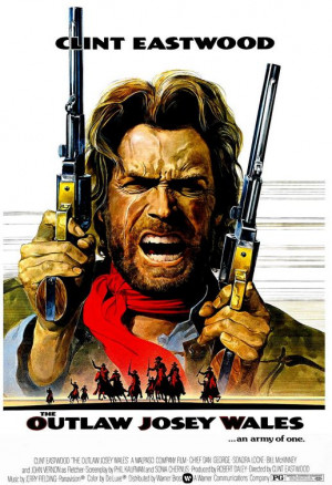 THE OUTLAW JOSEY WALES movie poster