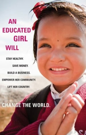 Change the World ~ Educate All Girls!