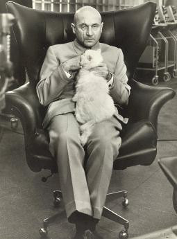 Ernst Stavro Blofeld, as portrayed by Donald Pleasence in You Only ...