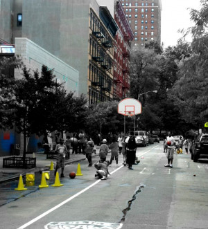 Bronx New York Basketball Fun