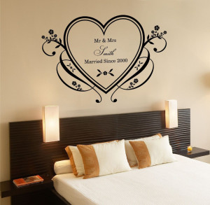 romance-love-heart-wall-sticker-personalized-mr-mrs-family-name ...